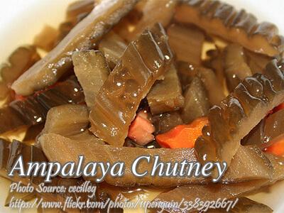 Ampalaya Chutney