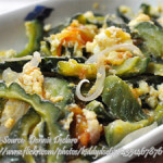 Ampalaya (bitter melon) With Eggs