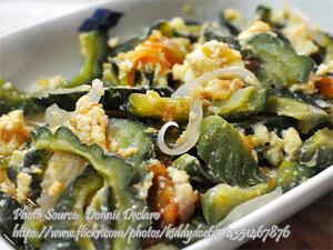 Ampalaya with Eggs