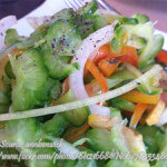 Ampalaya (Bitter melon) Salad
