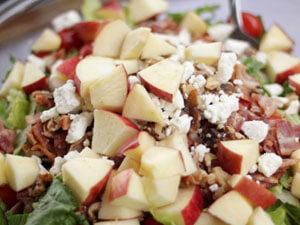 Pinoy Apple Salad