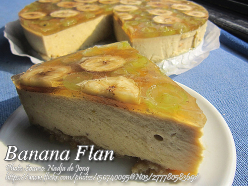Banana Flan