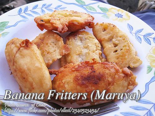Banana Fritters Maruya