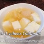 Buco Lychees Gulaman