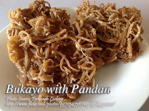 Bukayo with Pandan