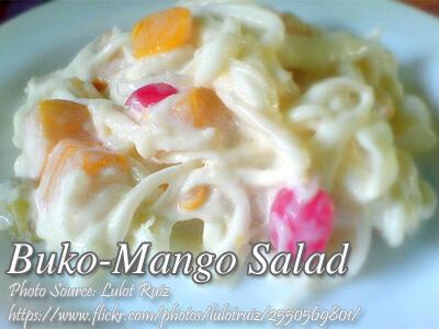 Buko Mango Salad