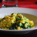 Burong Mustasa with Egg