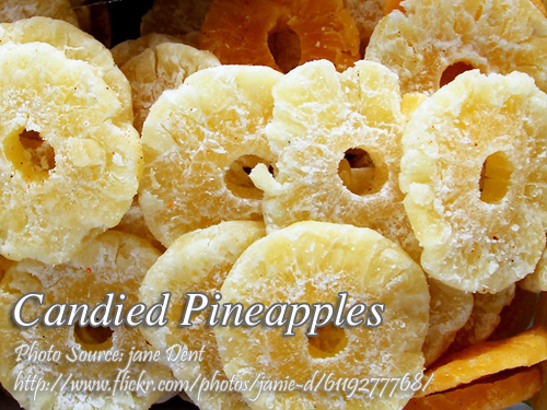 Candied Pineapples Pin It!