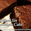 Cardinal Sin Chocolate Cake