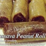 Cassava Peanut Roll