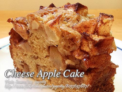 Cheese Apple Cake