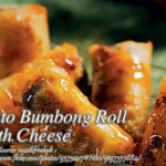 Puto Bumbong Roll with Cheese