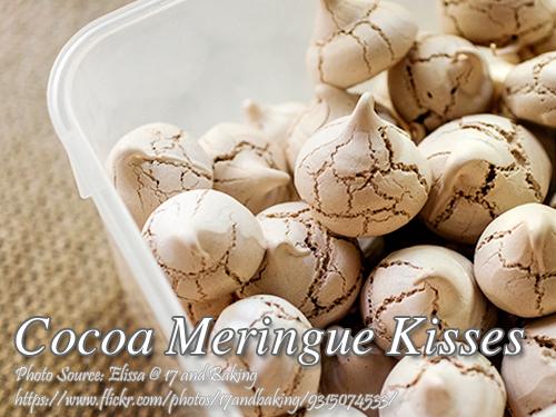 Cocoa Meringue Kisses