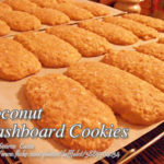 Coconut Washboard Cookies
