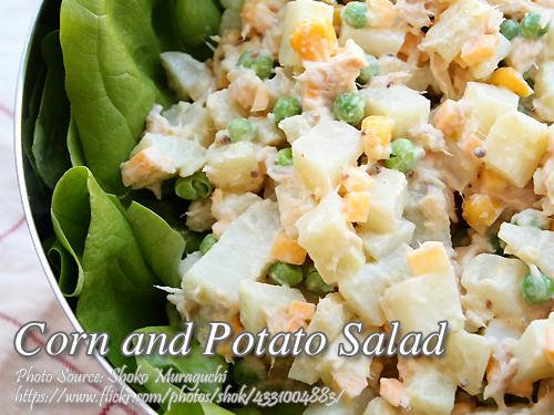 Corn and Potato Salad