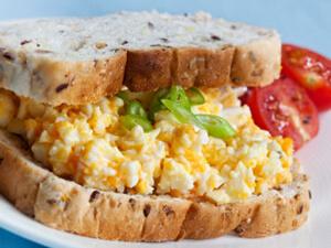 Creamed Egg Sandwich