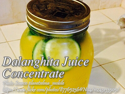 Dalanghita Juice Concentrate