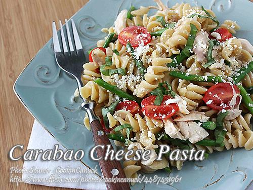 Carabao or Feta Cheese Pasta