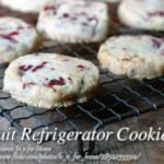 Fruit Refrigerator Cookies