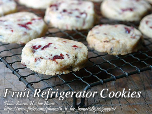 Fruit Refrigerator Cookies