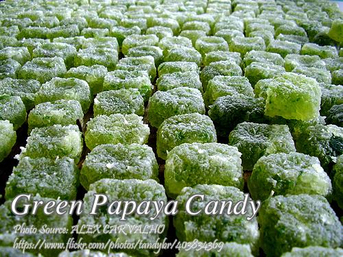 Green Papaya Candy