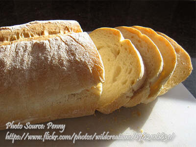 High Protein White Bread