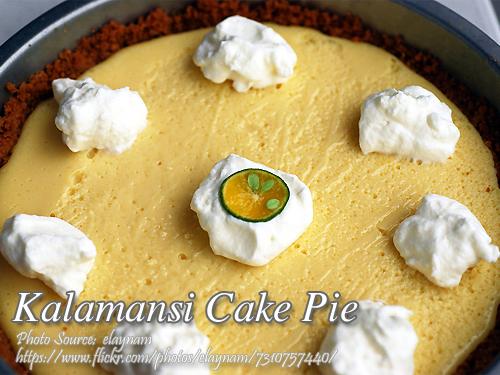 Kalamansi Cake Pie