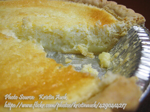 Kalamansi Sponge Pie