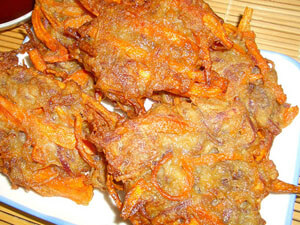 Kamote Fritters