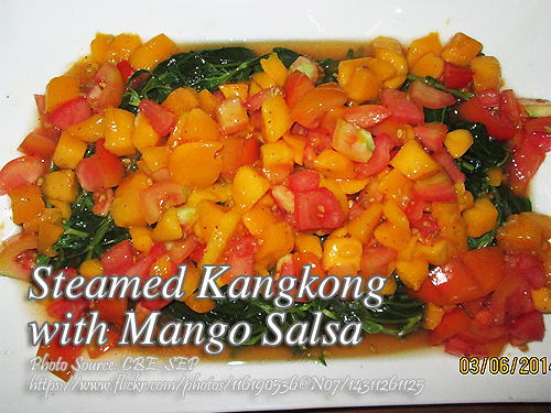 KangKong with Mango Salsa