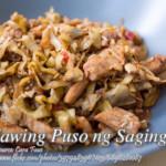 Kilawing Puso ng Saging (Banana Blossom Kilawin)