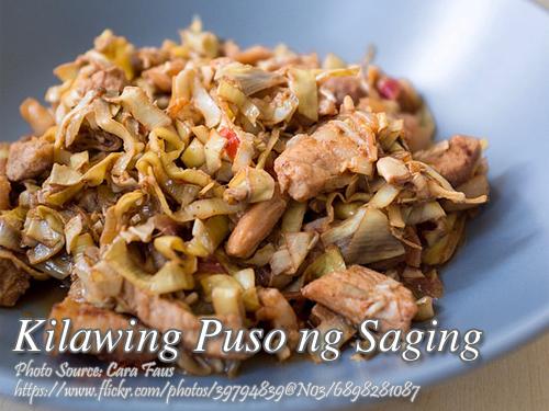 Kilawing Puso Saging