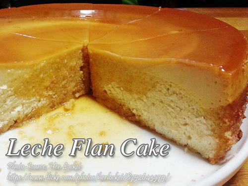 Leche Flan Cake Kawaling Pinoy Tasty Recipes