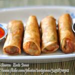 Vegetarian Buko Lumpia