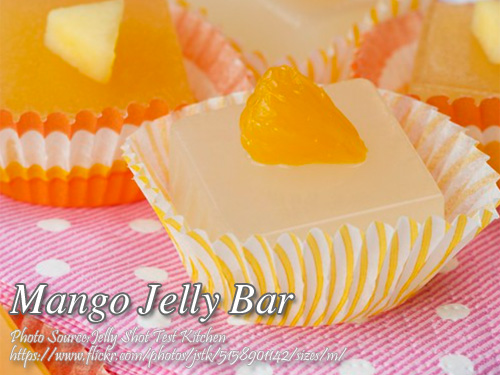 Mango Jelly Bars Pin It!