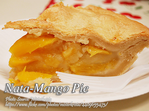 Nata-Mango Pie