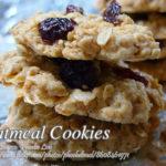 Oatmeal Cookies (Three versions)