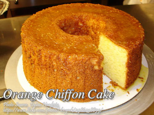 Orange Chiffon Cake Kawaling Pinoy Tasty Recipes