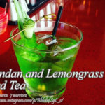 Pandan and Lemongrass Iced Tea