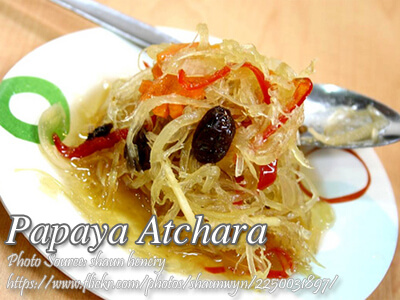 Papaya Atchara
