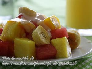 Pineapple Banana Salad