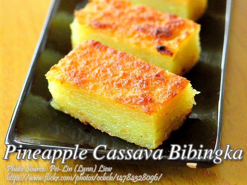 Pineapple Cassava Bibingka