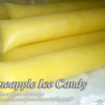 Pineapple Ice Candy