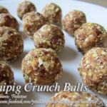 Pinipig Crunch Balls