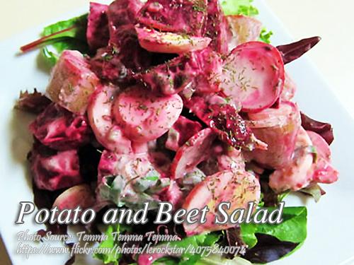 Potato Beet Salad