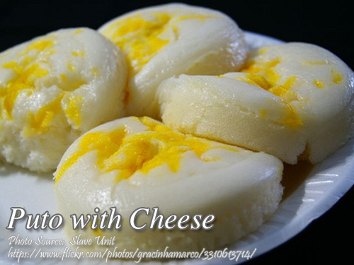Puto with Cheese