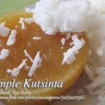 Simple Kutsinta (Cuchinta)