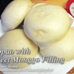 Siopao with Sweet Monggo Filling