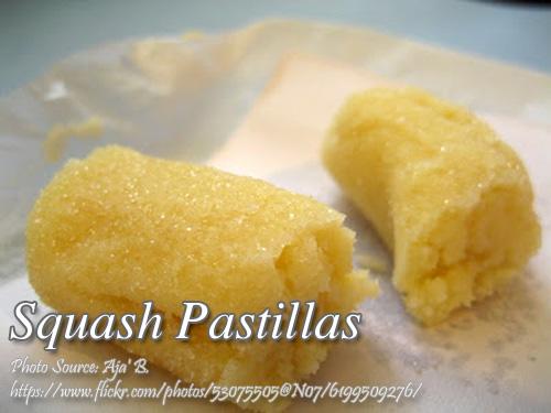 Squash Pastillas