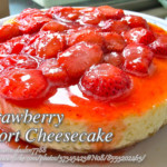 Strawberry Short Cheesecake